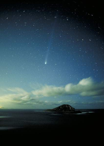 This Photo Reveals The Polar Star Close To A Meteor We Always See In North And God Bestowed It For Human As Compass Help Them Their